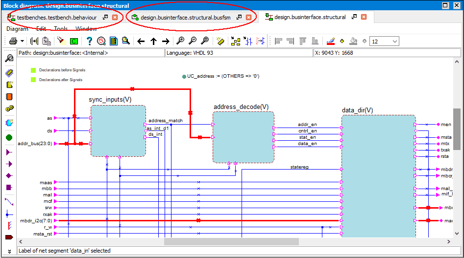 Multiple diagram editors